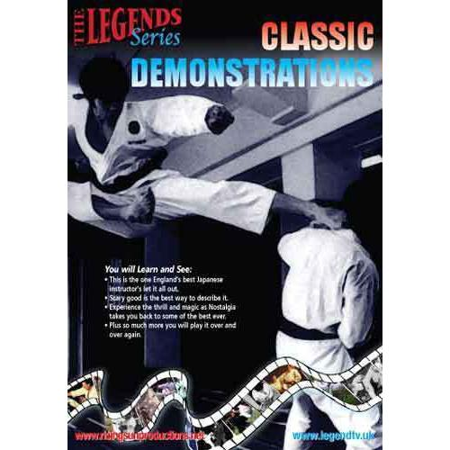 Classic Japanese Karate Demonstrations DVD