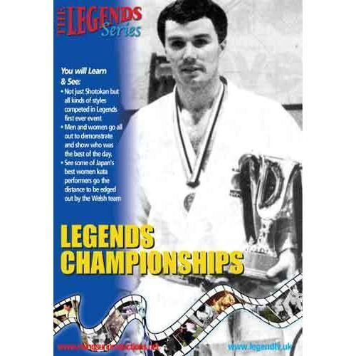 1st European Legend Karate Championship DVD