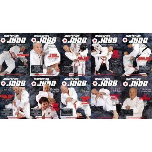 Mastering Judo 10 DVD Set Okada