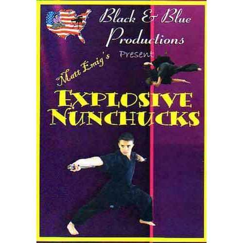 Tournament Karate Explosive Nunchaku DVD Matt Emig