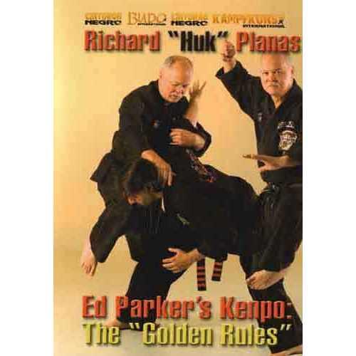 Ed Parker Kenpo Golden Rules DVD Planas