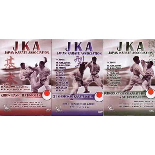 3 DVD Set 1960s Japan Karate Association JKA Top Instructors