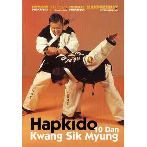 Hapkido 3 DVD Set Myung Moo Pellegrin
