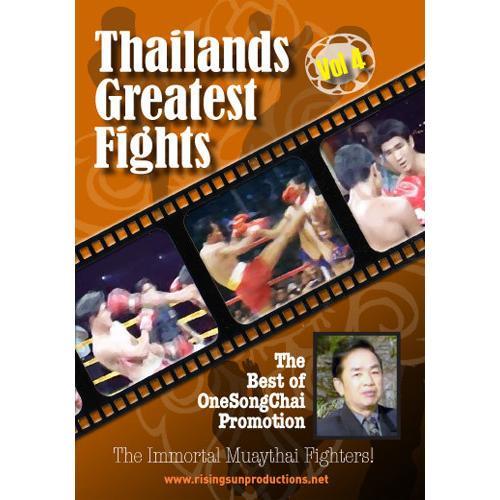 Muay Thai Greatest Fights 3 DVD Set OneSongChai Prormotions