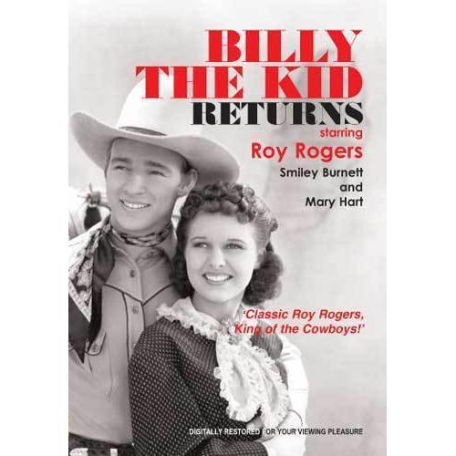 Billy The Kid Returns 1938 movie DVD