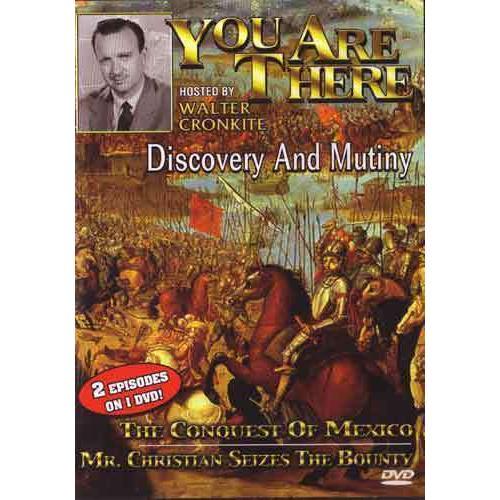 Discovery & Mutiny DVD Walter Cronkite