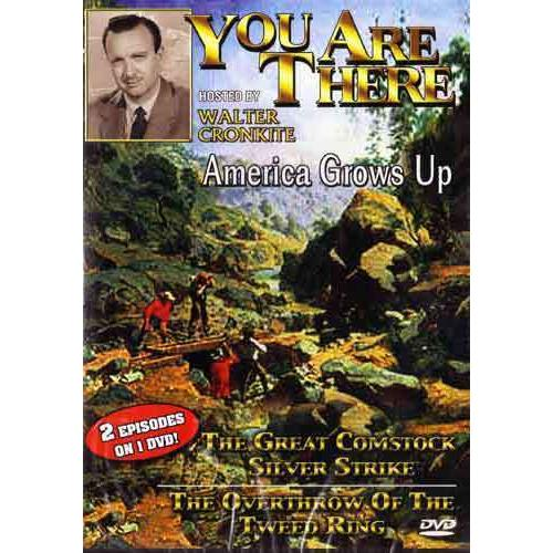 America Grows Up - You Are There Series DVD Walter Cronkite