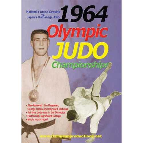 1964 Olympic Judo Championships DVD Geesink vs Akio