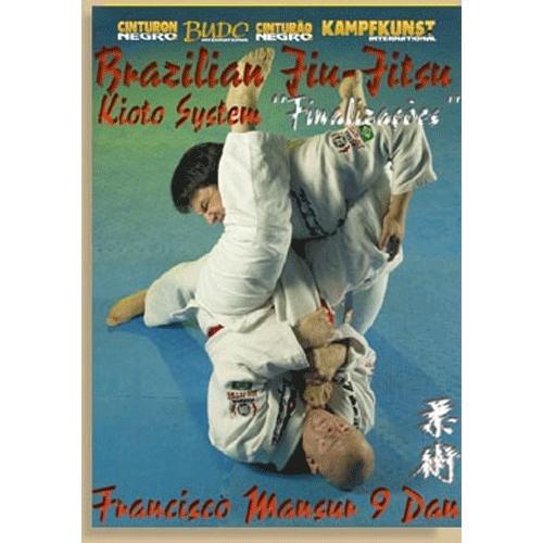 Brazilian Jiu Jitsu Kioto System 5 DVD Set Mansur