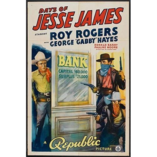 Days of Jesse James DVD Roy Rogers