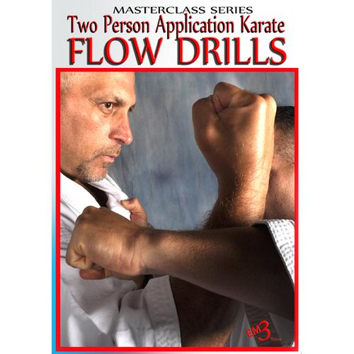 2 Person Application Flow Drills Okinawan Shorin Ryu Karate DVD Jerry Figgiani