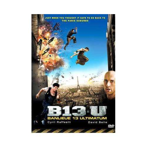 B13 U Banlieue Ultimatum - French Futuristic Sci Fi Action DVD subtitled