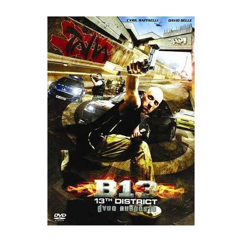 Banlieue B-13 13th District - Sci Fi Martial Arts Action movie DVD subtitled