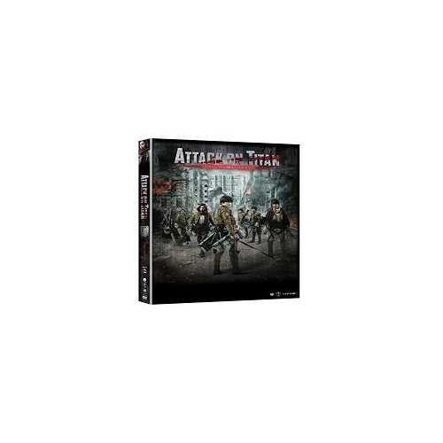 Attack on Titan Movie #2 DVD Japanese fantasy Martial Arts Action movie dubbed