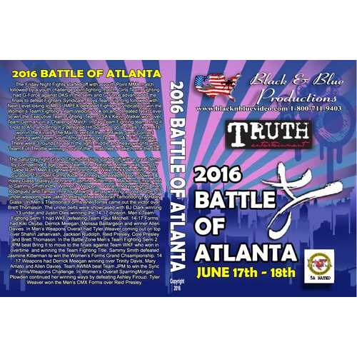 Battle of Atlanta Karate Open Tournament DVD NASKA mma weapons kata sparring
