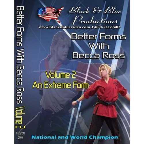 Better Tournament Karate Extreme Forms Kata #2 DVD National Champion Becca Ross