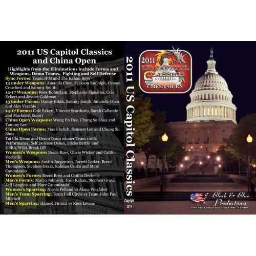 2011 U.S. Capitol Classics & China Open Karate Tournament DVD sparring kata