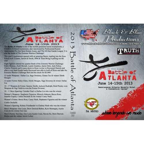 2013 Battle of Atlanta Karate Open Tournament DVD NASKA 5A sparring kata weapons
