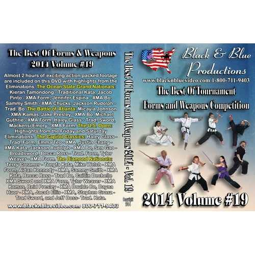 2014 Best Forms & Weapons Tournament Competition Karate Martial Art #19 DVD kata
