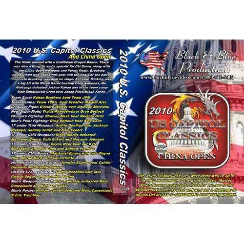 2010 U.S. Capitol Classics & China Open Karate Martial Arts Tournament DVD forms