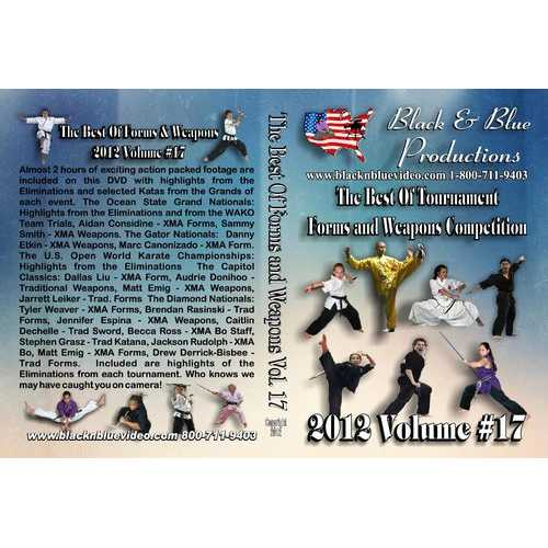 2012  #17 Best of Forms & Weapons Competition Karate Martial Arts Tournament DVD