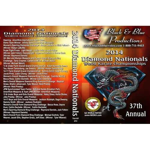 2014 Diamond Nationals World Championships Karate Martial Arts Tournament DVD