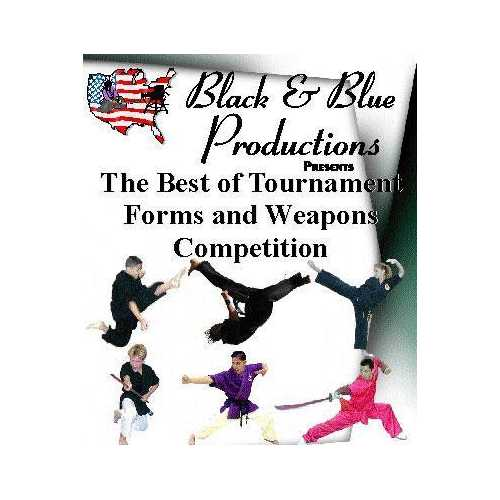 1999 Best of Karate Martial Arts National Tournament Forms & Weapons #4 DVD kata