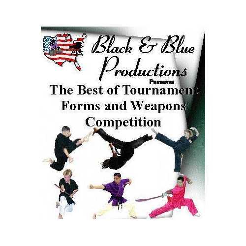 2002 Best Tournament Karate Forms Kata & Weapons #7 DVD