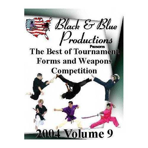 2004 Best Tournament Karate Forms Kata & Weapons Demos #9 DVD