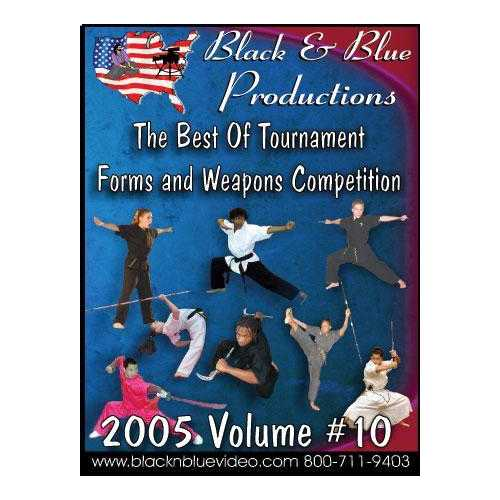 2005 Best Tournament Karate Forms Kata & Weapons Competition #10 DVD