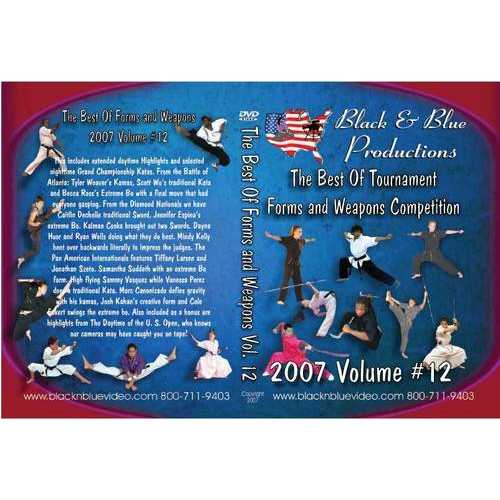 2007 Best Tournament Karate Forms & Weapons #12 DVD