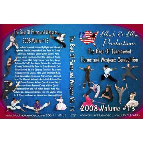 2008 Best Tournament Grand Championship Karate Forms Kata & Weapons #13 DVD