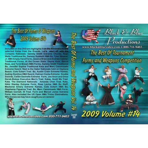 2009 Best Tournament Karate Forms & Weapons #14 DVD