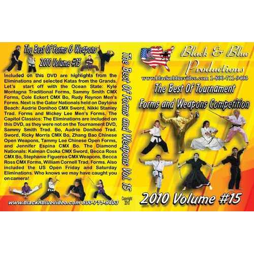 2010 Best Tournament Karate Forms & Weapons #15 DVD