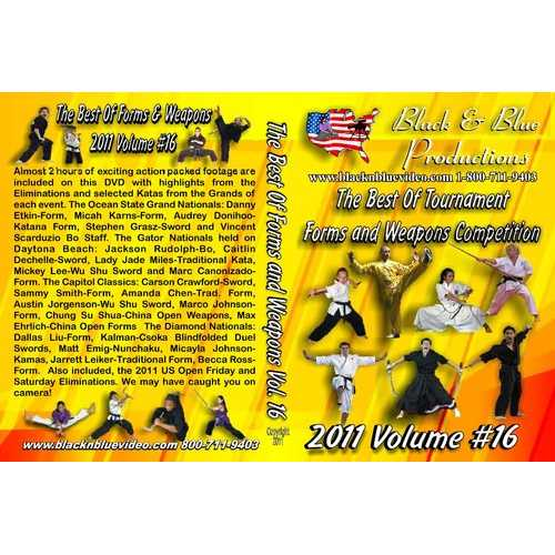 2011 Best Karate Martial Arts Tournament Weapons Competition #16 DVD kata forms