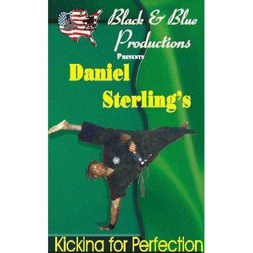 Tournament Karate Kicking for Perfection #1 DVD Daniel Sterling