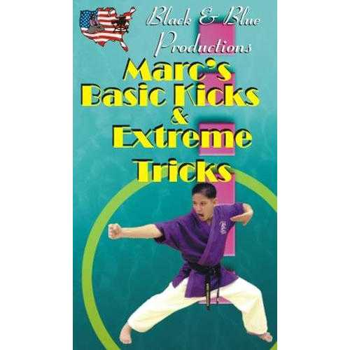 Tournament Karate Kicks & Extreme Tricks DVD Marc Canonizado