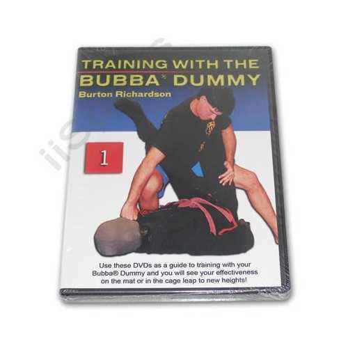 Burton Richardson MMA Brazilian Jiu Jitsu Bubba Dummy Training #1 DVD