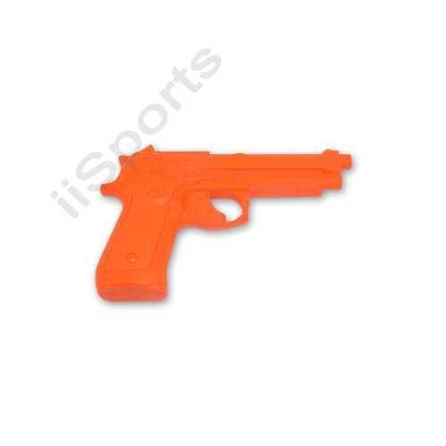 USA made! Practice Rubber 92 Auto Gun Pistol Police Trainer f safety orange new!