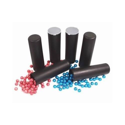 100rd Flip-Top Paintball Tube-Pod BLACK