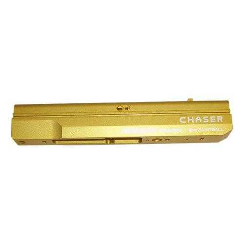 KT Chaser .43 cal 11mm Paintball Pistol GOLD ALUMINUM Receiver Body NEW KTP0101