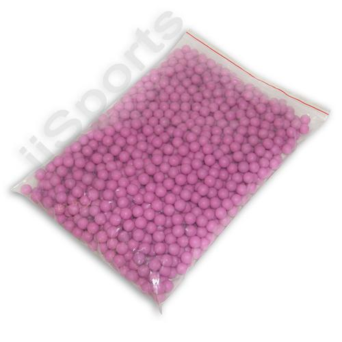 `.50 cal PINK Rubber Paintballs 500ct CASE zball