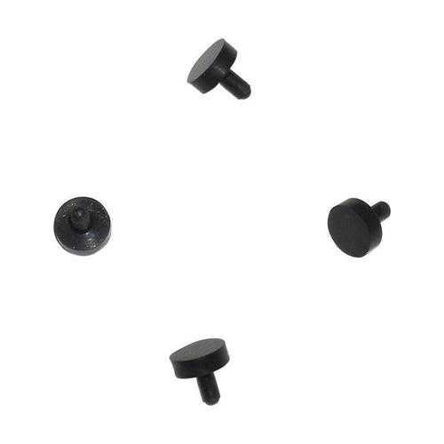 4 Black Rubber Replacement Ball Detents Spyder Electra Pilot Fenix Paintball Gun