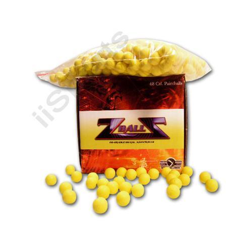 500 Reusable Foam Rubber 68cal Z Balls Practice Target Training Paintballs zball