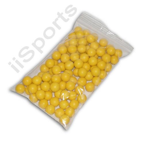 100 Reusable Foam Rubber 68 cal Z Balls Practice Target Training Paintballs