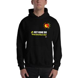 AT1005A Jeet Kune Do  'Art of No Way Is Way' Hoodie Black