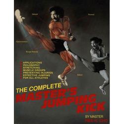 Complete Master's Jump paperback Kick Book - Hee Il Cho  1989 taekwondo