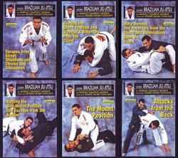 Category: Dropship Books & Videos, SKU #VD5223P, Title: 6 DVD SET Modern Brazilian Jiu Jitsu Comprido Medeiros mma grappling street ring