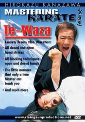 Category: Dropship Books & Videos, SKU #VD7094A, Title: Hirokazu Kanazawa Mastering Karate 9 DVD SET