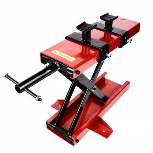 1100 LB Mini Scissor Lift Jack ATV Motorcycle Crank Stand